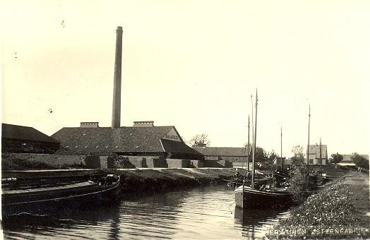 het kanaal steenfabriek Herwijnen1