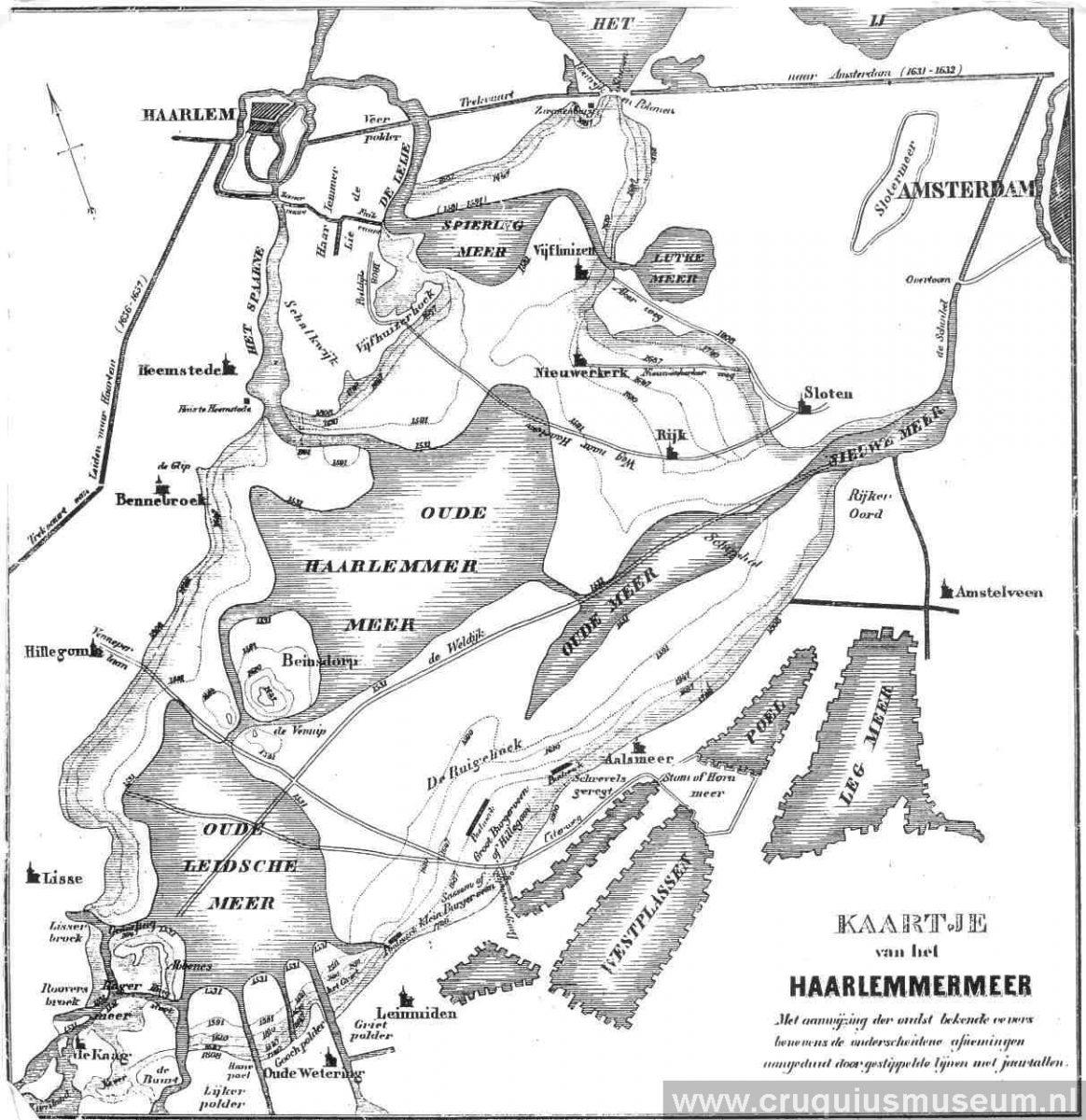 route via Haarlem